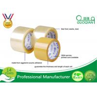 Best Clear Transparent High Tack Adhesive BOPP Packing Tape 48mm X 50m wholesale