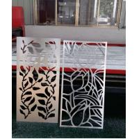 aluminum perforated carved decorative facade panel or for curtain wall