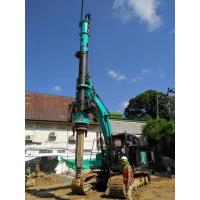 Buy cheap 1200mm Max Pile Diameter Hydraulic Piling Machine , 24m Max Depth Borehole Drilling Machine from wholesalers