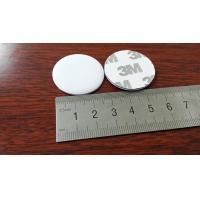 NTAG213 NFC Chip On Metal RFID Tags Sticky Dome Token Type 30 MM Circle