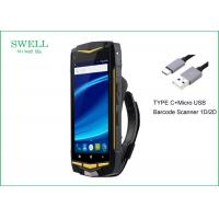 Best Dual Sim Card 4G LTE 3G WCDMA Ruggedized Military Phone / Rugged Handheld Device wholesale