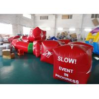 Quality Water Triathlons Advertising Inflatable Promoting Buoy For Ocean Or Lake wholesale