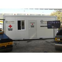 Quality Temporary Clinic Flat Pack Container House Emergency Room For Countryside wholesale