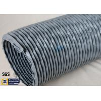 Buy cheap PVC Coated Fiberglass Fabric Waterproof Flexible Ventilation Air Duct 200MM 260℃ from wholesalers