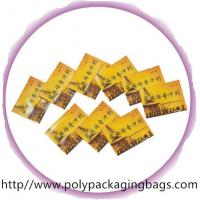 Quality Disposable Herbal Tea Aluminium Foil Bag with Colorful Printing wholesale