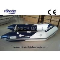 Best River / Sea Comfortable PVC Hull Foldable Inflatable Boat For 4 Passengers wholesale