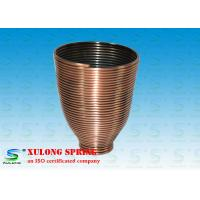Steel Copper Plating Display Specialty Springs Cup Shaped Left Direction