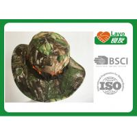 Buy cheap Military Style Waterproof Camo Hunting Hats Windbreak For Fishing Sunshade from wholesalers