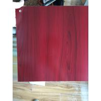 Quality PVC Faux Wood Laminate Sheets Low Carbon Glossy Printing 1220×2440 mm wholesale