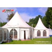 Transparent Cover Garden Gazebo Tent , 8M X 8M Second Hand Party Tent