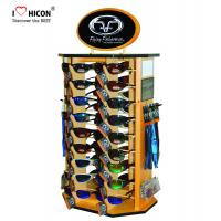 Quality Shopper Marketing Sunglasses Display Commercial Wooden Sunglass Display Stand wholesale