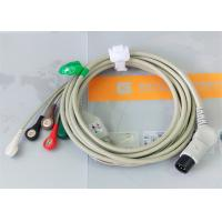 Quality TPU Material Patient Monitor Accessories One Piece ECG Cable Compatible M&B wholesale
