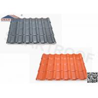 Quality Weathering Reistance Spanish Tile Roof Design With 35.9 FT. Length wholesale