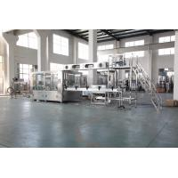 Best Auto Plastic Bottle Water Filling Machine With PLC Control Stainless Steel Material wholesale