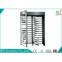Best Prison Industrial Grade Full Height Turnstiles Access Control , Stainless Steel Housing wholesale