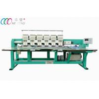 Quality computer 6 Heads 9 Needles Flat Embroidery Machine For Garment HFIII-906 wholesale