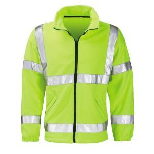 Hi Vis Fleece Reflective Safety Jacket
