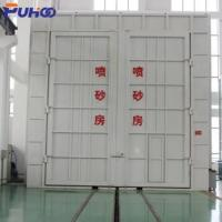 Quality Large Scale Industrial Sand Blasting Room Flexible Layout For Locomotive Industry wholesale