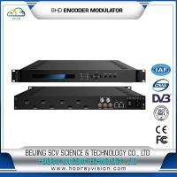 Quality HEM-2128H 8HD input Encoder Modulator for DVB-T system or Cable TV system wholesale