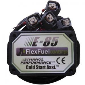 E85 CONVERSION KIT ETHANOL E85 KIT BIOETHANOL E85 KIT WITH COLD START ASST., EV6 4CYL