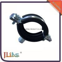 Best Stainess Steel Pipe Holder Bracket Rubber Lined Split Clamp 304 Pipe Clip wholesale