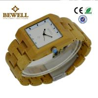 Best Bamboo Men / Women Wooden Wrist Watch With Japanese 2035 Movement , OEM ODM Service wholesale
