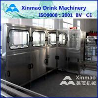 Quality 5 Gallon Water Filling Machine , 3 In 1 Liquid Filling Production Line wholesale