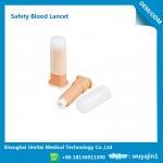Quality Easy Handling Disposable Blood Lancet For Blood Sugar Less Pressure Powder wholesale