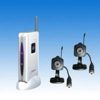 2.4GHz Wireless Camera with Palm LCD