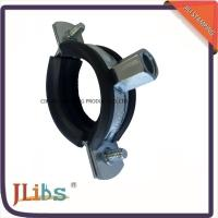 Best Zinc Galvanized Rubber Lined Cast Iron Pipe Clamps For Pvc Pipe Standard wholesale