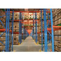 Quality Economical Warehouse Adjustable Pallet Rack Storage Systems With Stable Structure wholesale