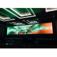 Best HD Indoor LED Video Wall 5x5 / Custom RGB LED Display Board For Exhibition Shows wholesale