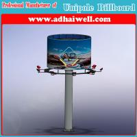 Double Side Advertising Unipole Structure Billboard Display