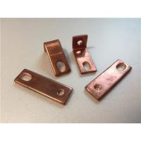 Quality Thick Bended Pure Copper Sheet Metal Bending Dies One Fixed Hole / Adjustable Hole wholesale