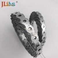 Quality Single Side Bracket Metal Fixing Band With Holes Galvanized Plate wholesale