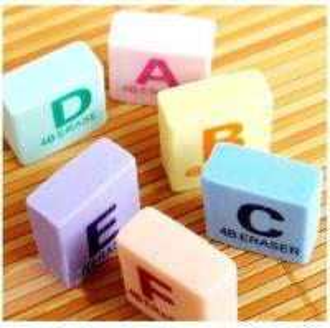 promotional stationery eraser
