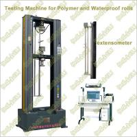 Quality WDW-G2/G5/G10/G20 Polymer Waterproof Rolls/Membrane Tensile Testing Machine wholesale