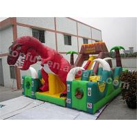 Quality Jurassic Park Theme Inflatable Playground / Adventurous Kid inflatable castle   wholesale