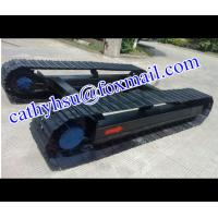custom built 1-100 ton high quality steel track undercarriage (crawler undercarriage assembly)