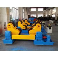 Quality 40 Ton Standard Automatic Pipe Rotators For Welding 400mm Diameter Roller wholesale