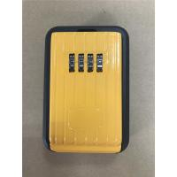 Quality Yellow Large Outside Key Safe Box Digit Dialing Combination for Realtors wholesale