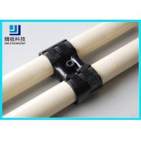 Quality Adjustable Swivel Metal Pipe Joints For Rotating In Pipe Rack System Black Fitting HJ-8 wholesale