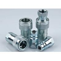 Single Handed Operation Hydraulic Connectors Fittings LSQ-PK NPTF Thread