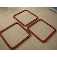 Quality Hot Resistant Silicone Sponge Gasket , Silicone Foam Gasket ROHS / FCC / SGS wholesale