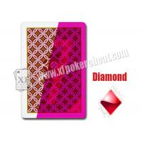 Quality Aribic JDL Standard  Size Plastic Invisible Marked Playing Cards For Contact Lens wholesale