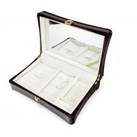 Quality Luxury Wood Gift Box Packaging / Wooden Jewelry Case In Glossy Finish wholesale