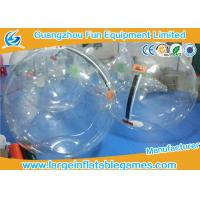 Commercial Float Inflatable Human Hamster Ball For Pool , Human Water Bubble Ball