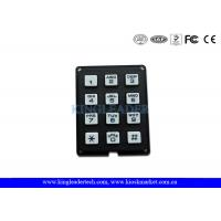 Quality Rugged Plastic Numeric Keypad With 12 Keys , Ideal For Access Control System , Public Phone wholesale