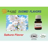 Quality Liquid Soft Drink Flavours Bright Fruity Sakura Flavor For Drinking wholesale