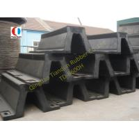 Black Arch Marine Rubber Fender For Steamship , 600H High Strength